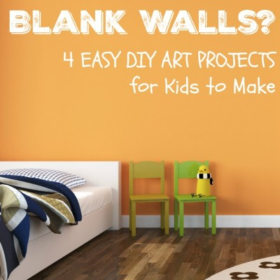EASY DIY Wall Art for Kids Inspired by Books
