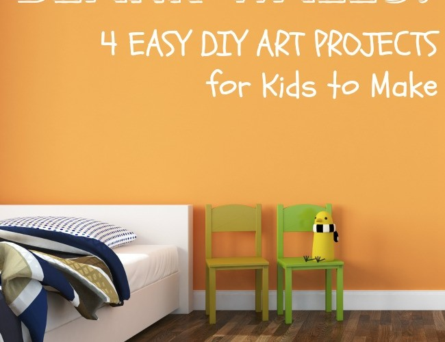 DIY Wall Art for Kids Project Ideas
