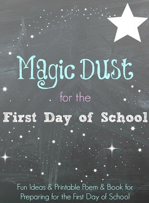 First Day of School Magic Dust