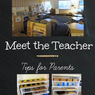 Meet the Teacher Tips for Parents