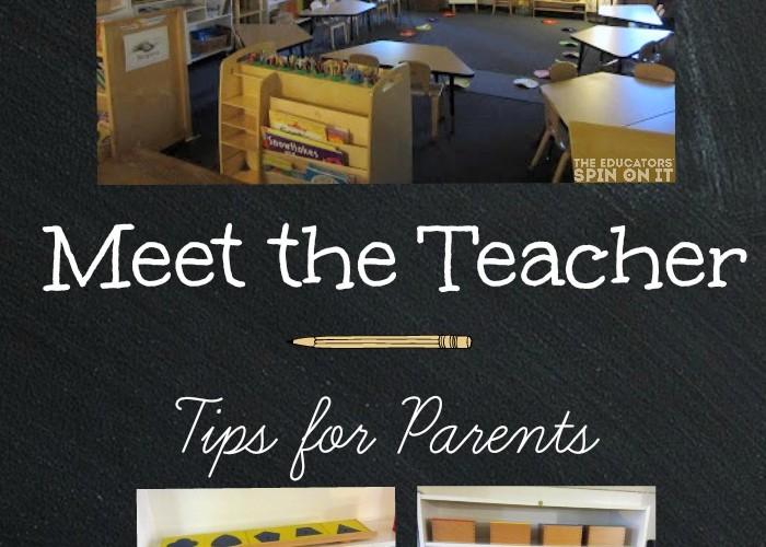 Meet the Teacher Tips for Parents