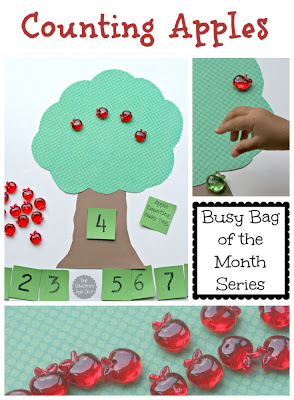 Apple Themed Crafts For Preschoolers