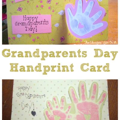 Handprint Card