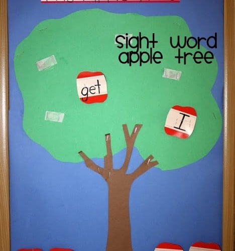Learning Apple Sight Word Game for Kindergarten