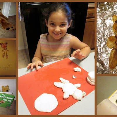 Little Hands that Cook with Books: Teddy Bear Biscuits