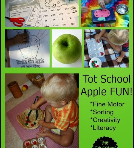 Apple Learning Activities for Toddlers