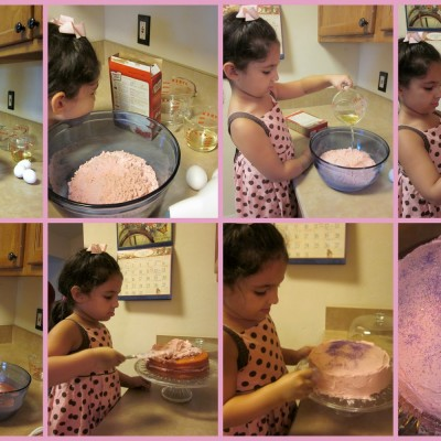 Little Hands that Cook with Books: Let's Bake a Cake