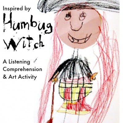The Humbug Witch – a reading and listening activity for K-2