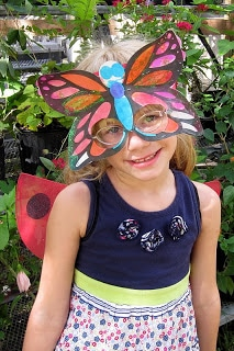 Butterfly Mask Art Project for Kids