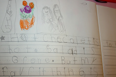 What does kindergarten writing look like and how can I teach my kindergartner to write better?