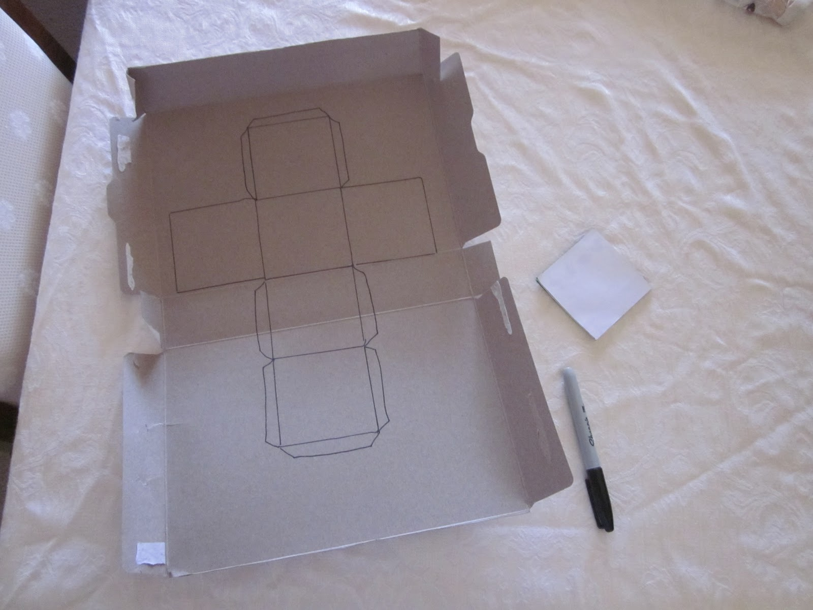How to Make Your Own Baby Blocks with Cardboard