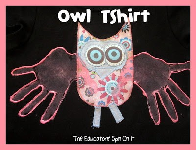 Owl T-Shirt Tutorial