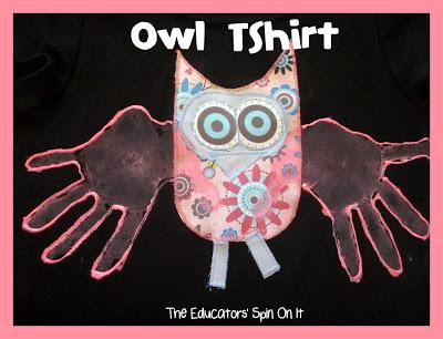 Owl T-Shirt Tutorial