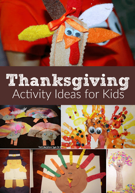 Thanksgiving Activity Ideas for Kids