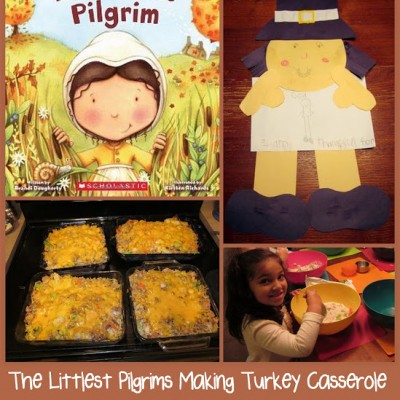 Little Hands that Cook with Books:  Turkey Casserole