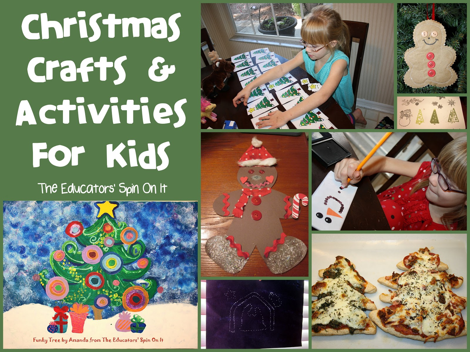 Christmas Crafts And Activities For Kids The Educators Spin On It