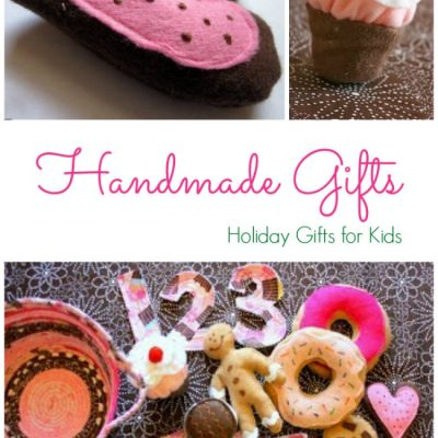 DIY Handmade Gifts for toddlers are as easy as 123!