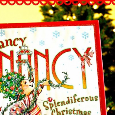 Fancy Nancy Splendiferous Christmas and Tree Topper Craft