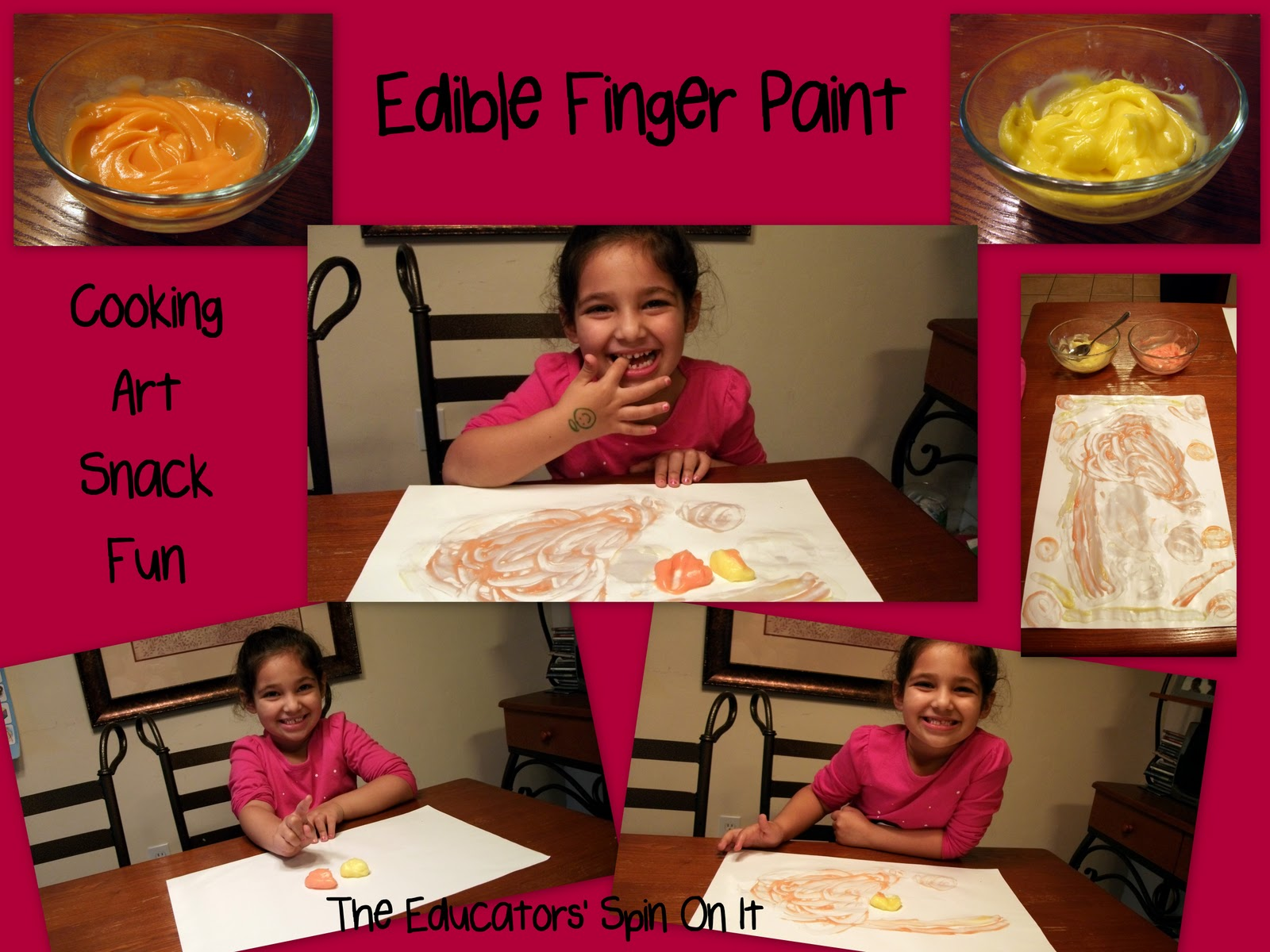 Heres What Our Afternoon Of Finger Painting Fun Looked Like With My Two Girls