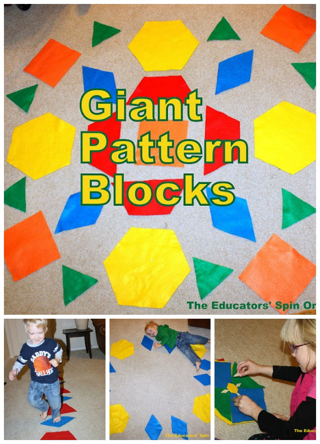 Tots and blocks