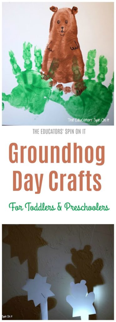Groundhog Day Crafts for toddlers and Preschoolers