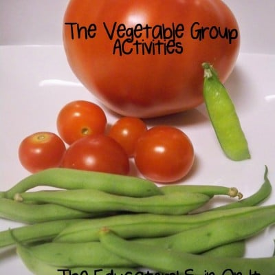 Little Hands That Cook with Books: Vegetable Group~Balanced Eating Fun Series