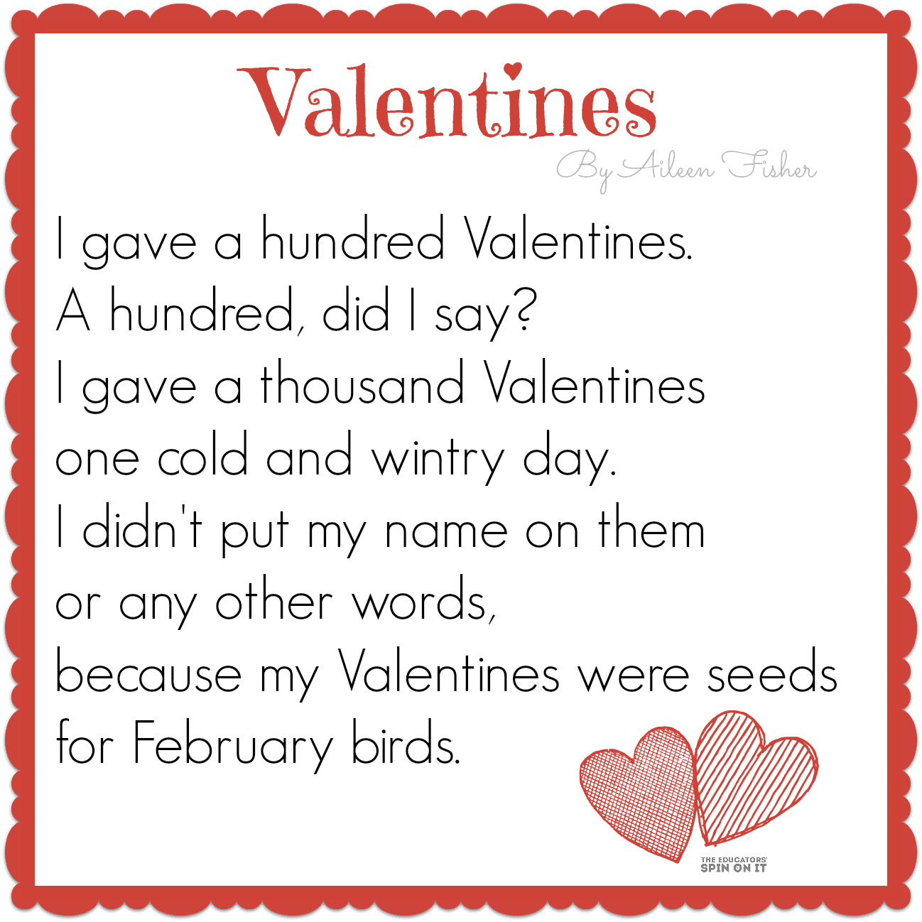 valentine's poems - photo #4