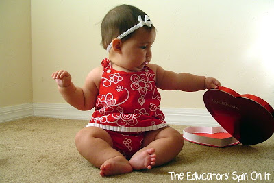 Hands on Fun for Valentine's Day Activities for Babies and Toddlers