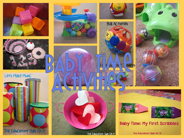 Activity Ideas for Babies and Toddlers