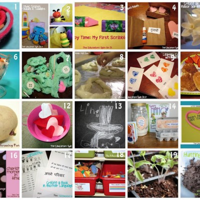 February Wrap Up at The Educators' Spin On It