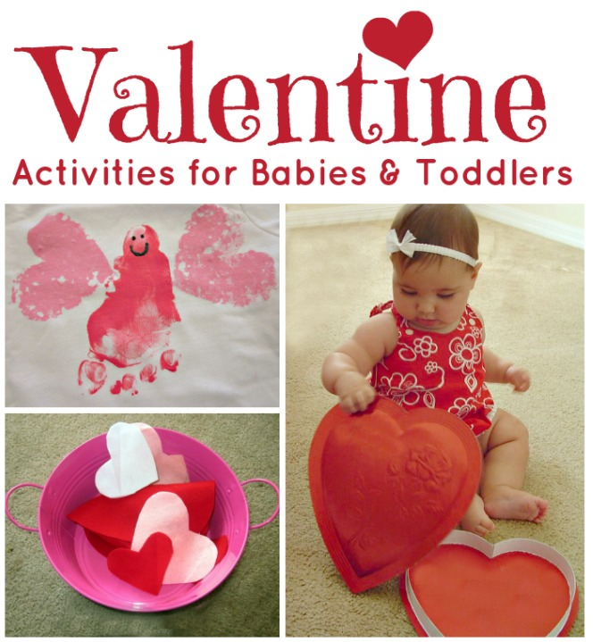 Hands On Valentines Activities for Babies and Toddlers