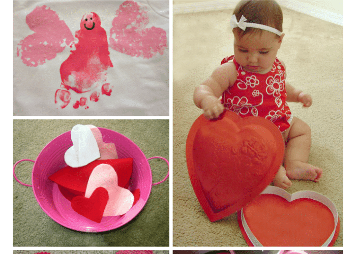 Valentine Activities for Babies and Toddlers from The Educators' Spin On It