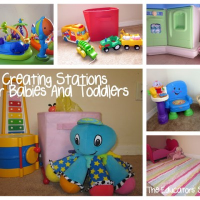 Ideas for Creating and Storing Toy Stations