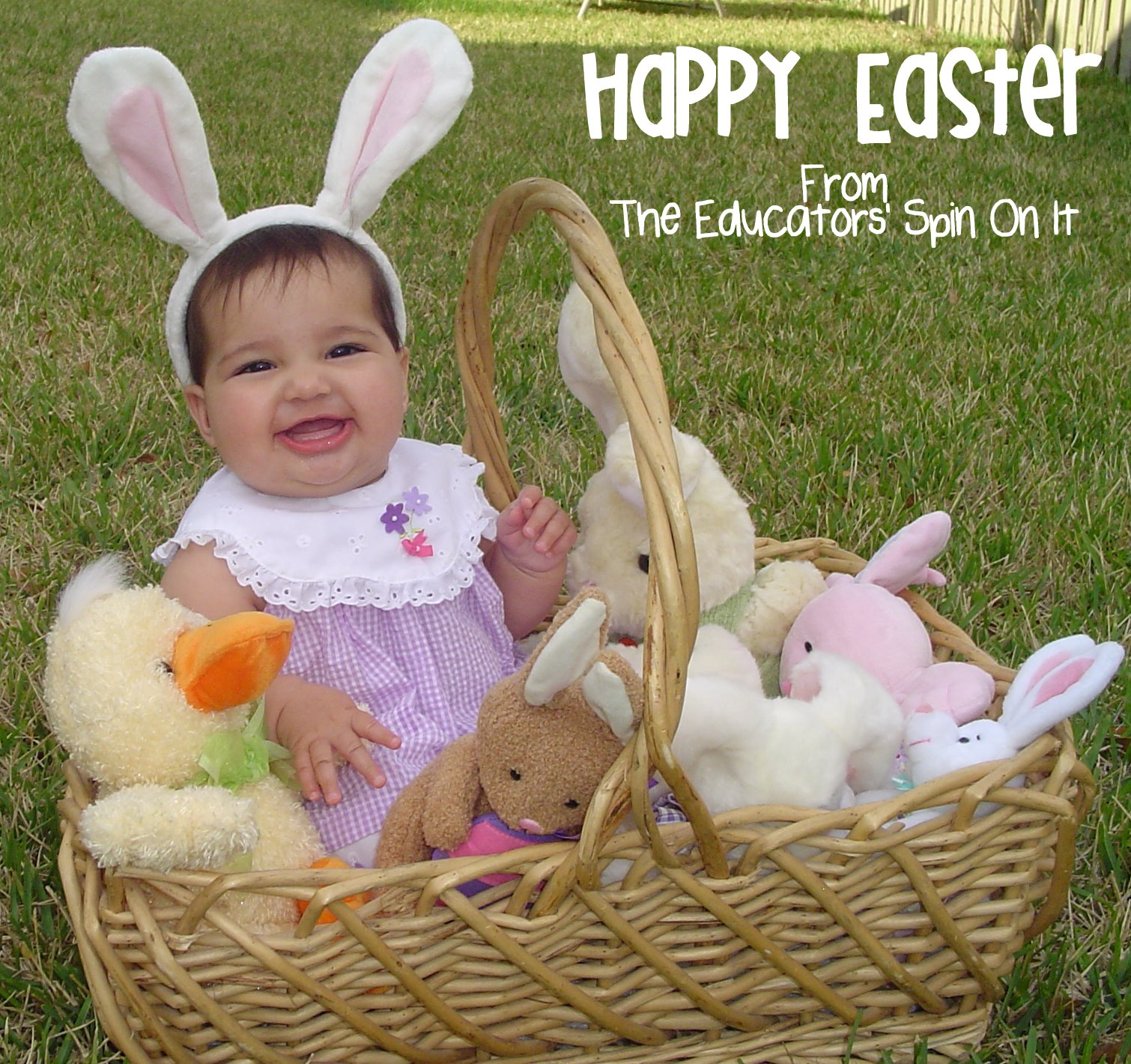 Ideas for easter baskets for babies ideas for easter baskets for babies and toddlers from the educators spin on it negle