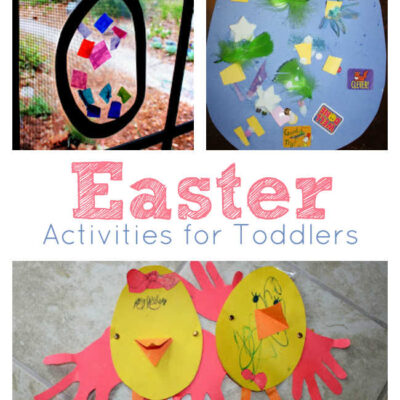 Easter Crafts and Activities for Toddlers
