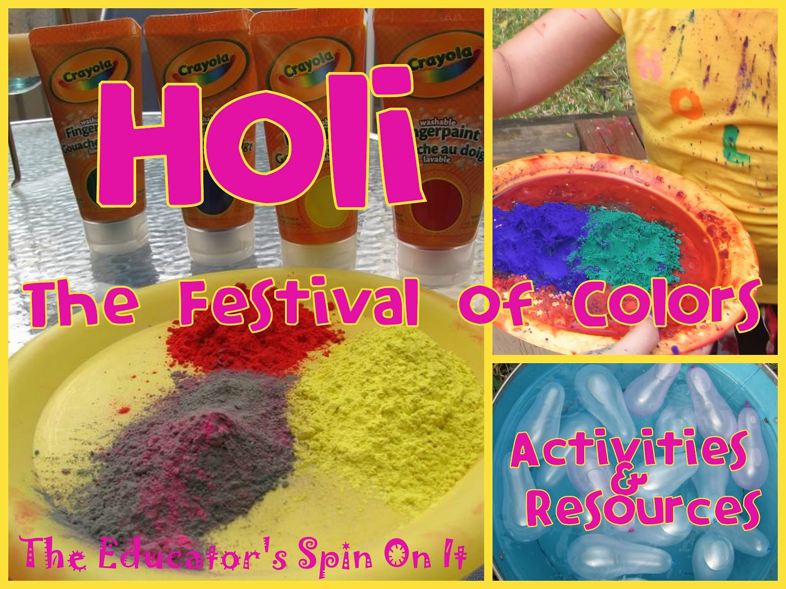 Holi Fun To Welcome Spring The Educators Spin On It