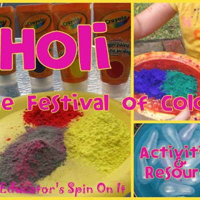 Holi Fun to Welcome Spring