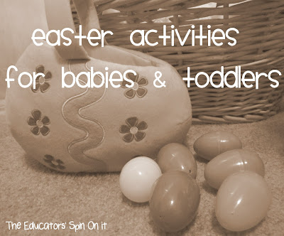 Easter Activities, Crafts and Books for Babies and Toddlers