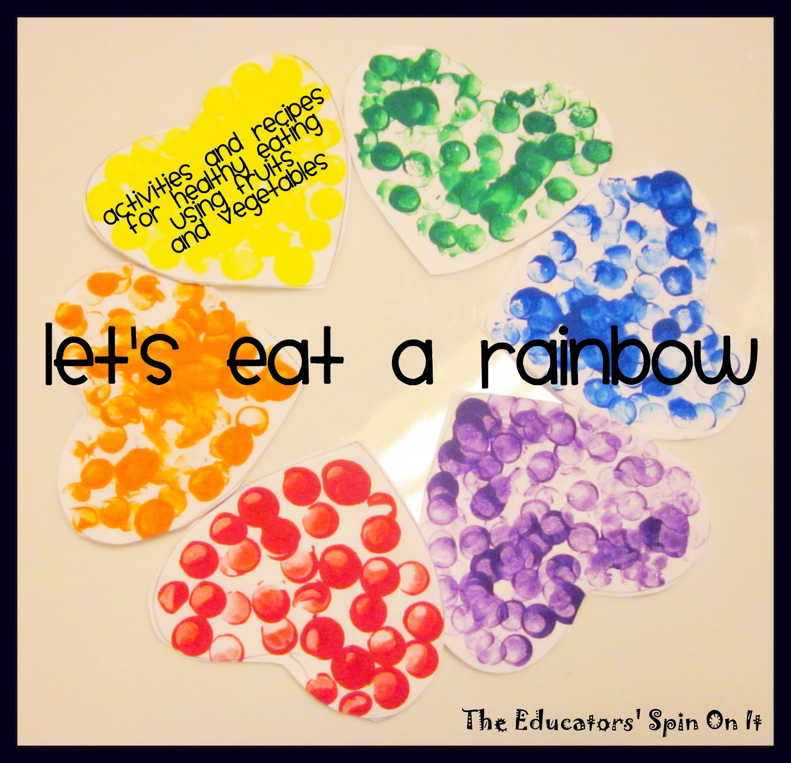 Little Hands That Cook With Books: Let's Eat A RAINBOW