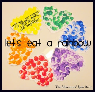 Little Hands That Cook with Books: Let's eat a RAINBOW!