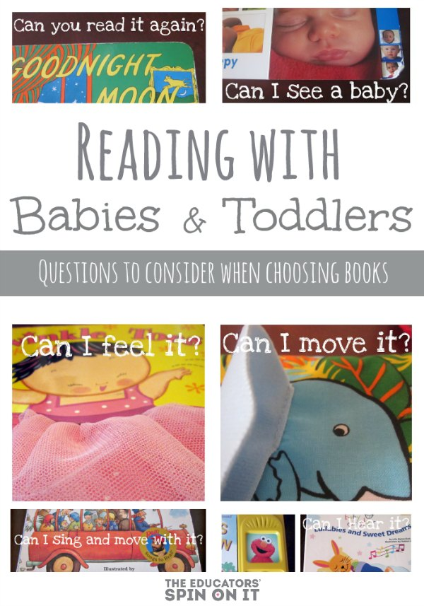 book covers of board books for babies and toddlers to read with parents