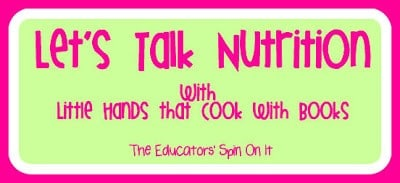 Little Hands that Cook with Book: Let's Talk Nutrition