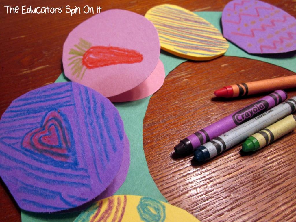 Handmade Egg Wreath or Cards