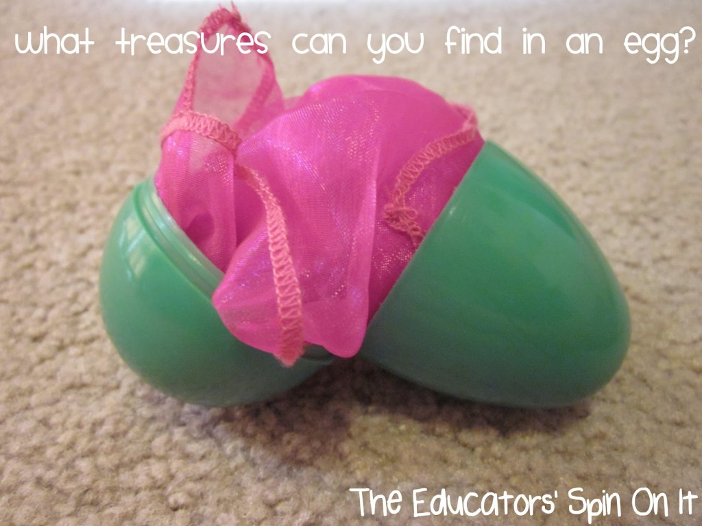 non candy egg filler ideas with scarves for music fun