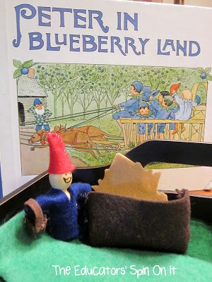 Our Sewing Adventure with Peter in Blueberry Land by Elsa Beskow