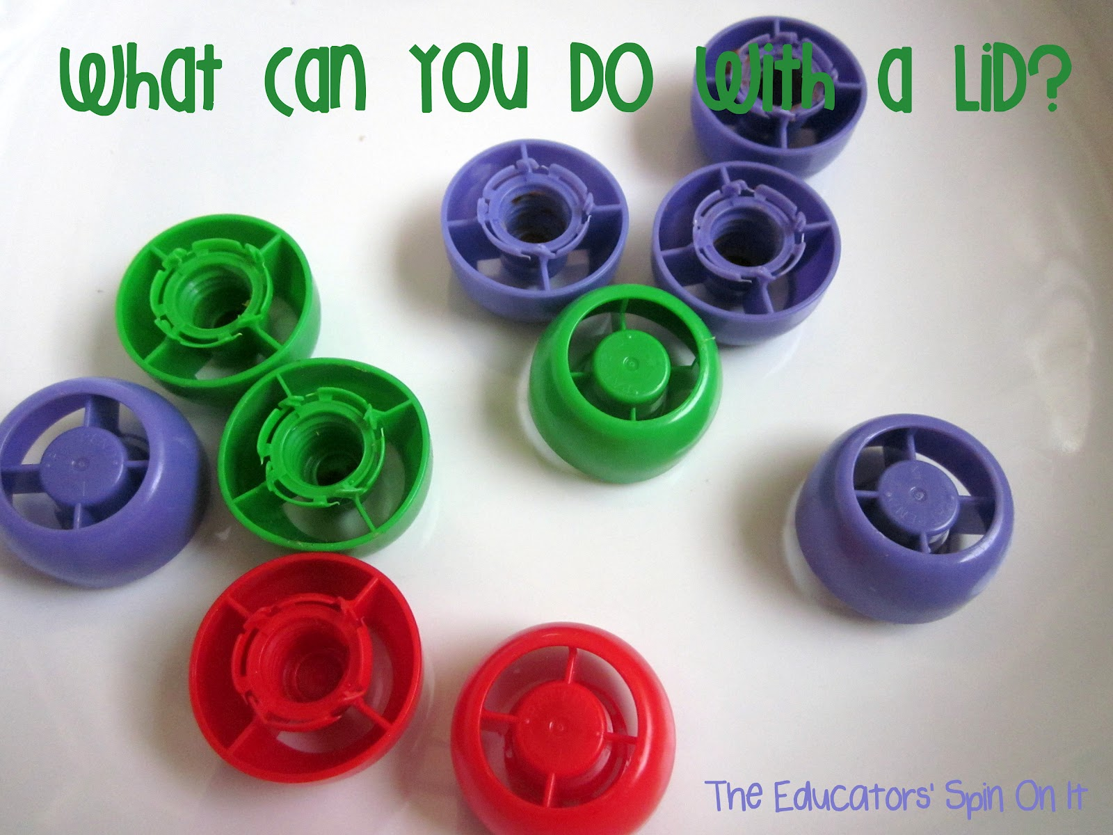 8 Activities for Kids with Lids - The Educators\' Spin On It