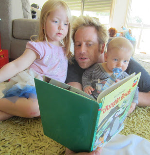Snapshots of Parenting with Purpose: The Importance of Daddy Reading