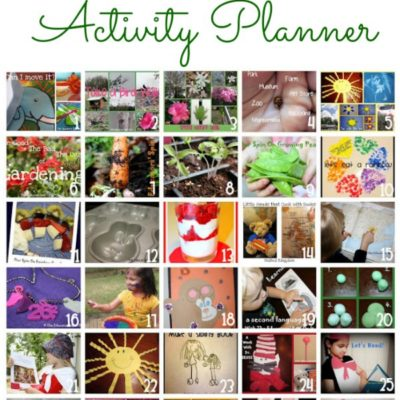 March Activity Planner for Kids