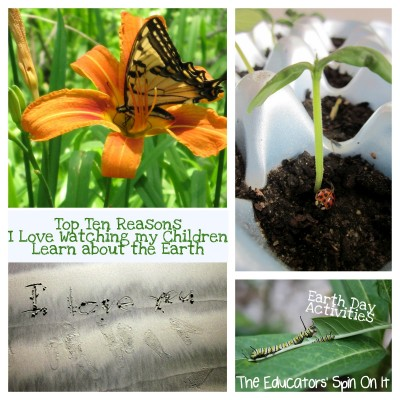 Top 10 Reasons I Love Watching My Children Learn About the Earth