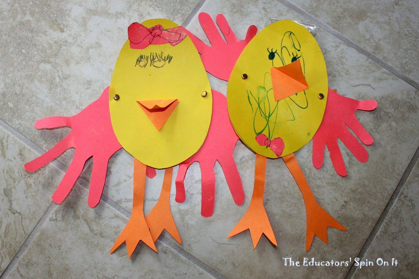 Easter arts and crafts ideas for children - Last Minute Easter Crafts